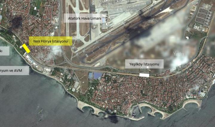 Marmaray Florya İstasyonu