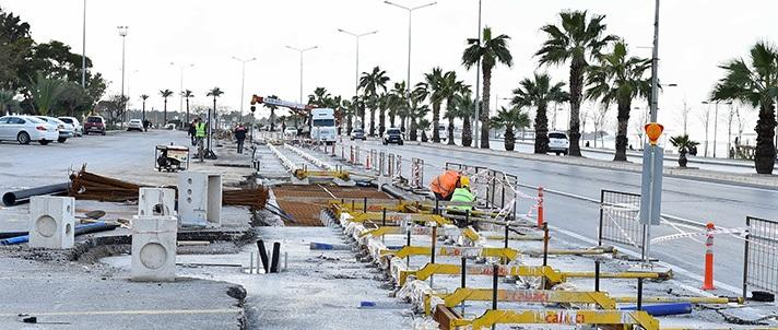 İzmir Tramvay İnşaatı